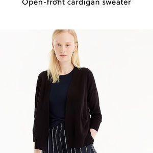 J. Crew nwot open front cardigans